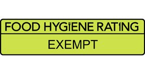 Food Hygiene Rating is: Exempt